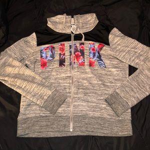 VS Pink Zip-up hoodie
